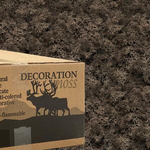 Bruin mos rendiermos 3 kilo voor grote wanden