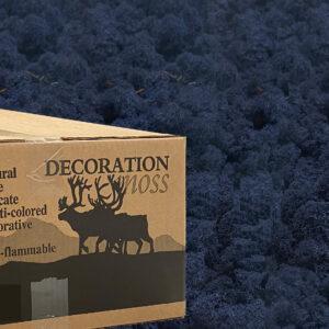 Classic Blue mos rendiermos 3 kilo voor grote wanden